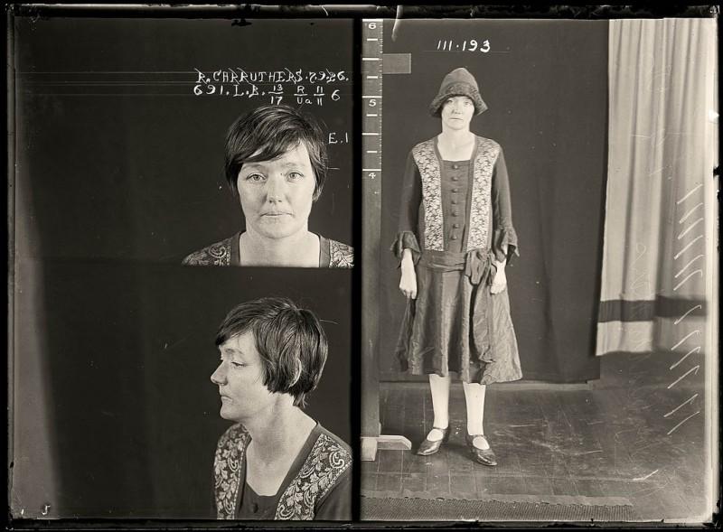 photo police sydney australie mugshot 1920 08 800x589 Portraits de criminels australiens dans les années 1920