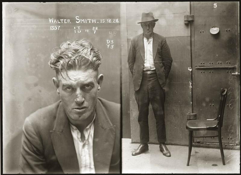 photo police sydney australie mugshot 1920 09 800x580 Portraits de criminels australiens dans les années 1920