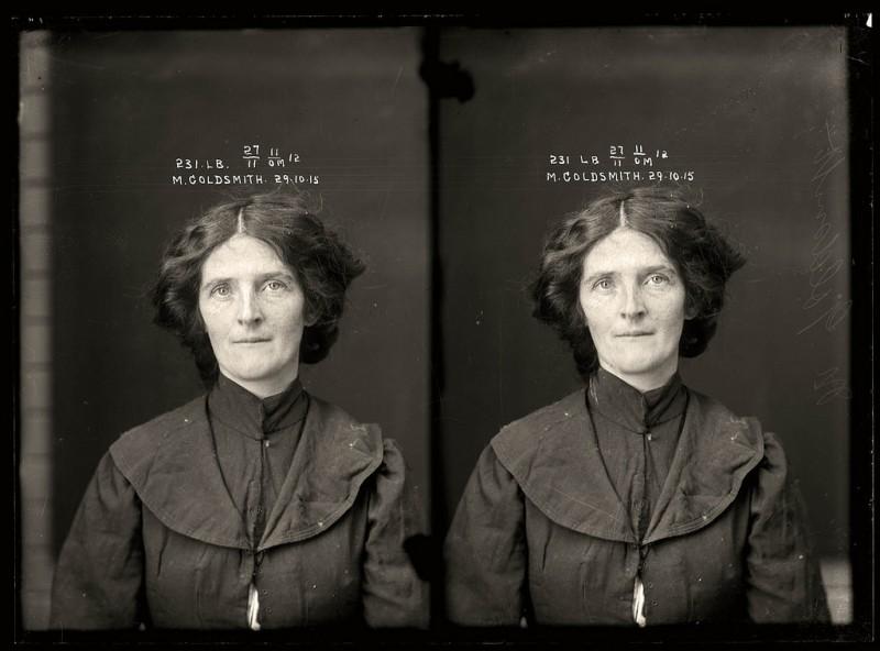 photo police sydney australie mugshot 1920 30 800x592 Portraits de criminels australiens dans les années 1920