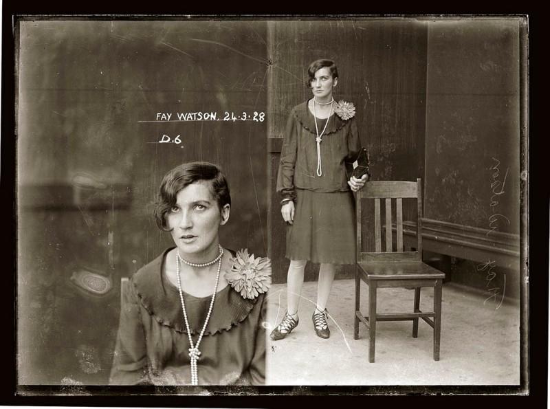 photo-police-sydney-australie-mugshot-1920-41