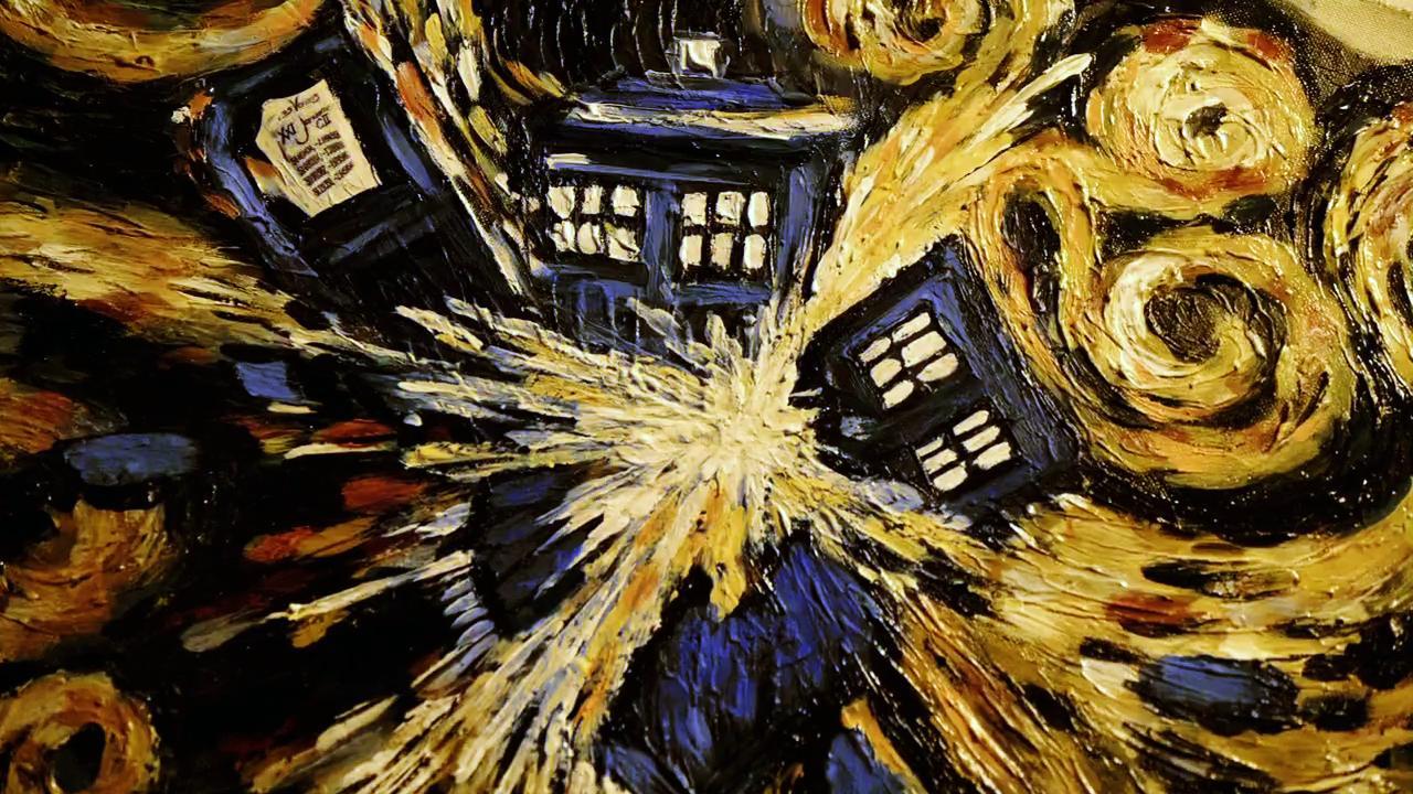 Tardis Vincent Van Gogh · Doctor Who Starry Night ...