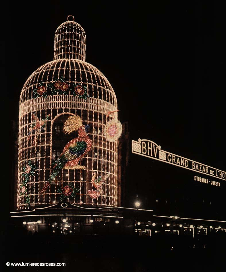 Les autochromes parisiens de l on gimpel - Illumination noel paris ...