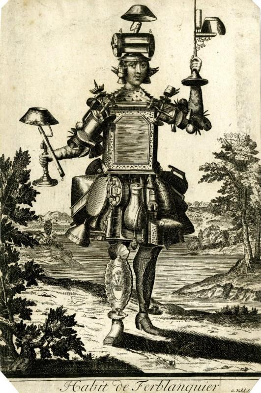 Nicolas Larmessin Costumes Grotesques Habit metier 06 531x800 Costumes grotesques et métiers de Nicolas de Larmessin