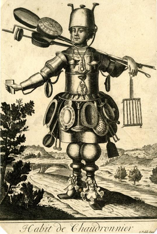 Nicolas Larmessin Costumes Grotesques Habit metier 10 538x800 Costumes grotesques et métiers de Nicolas de Larmessin