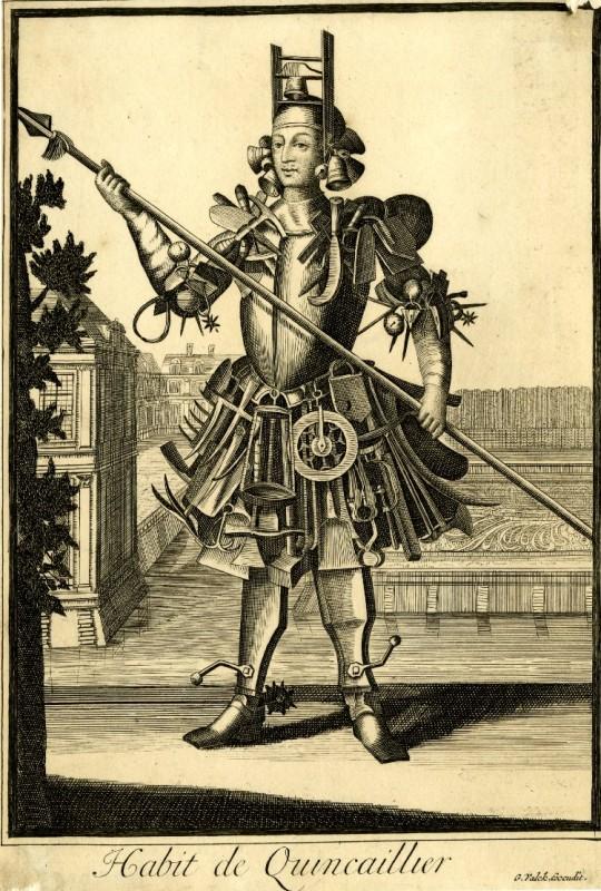 Nicolas Larmessin Costumes Grotesques Habit metier 11 540x800 Costumes grotesques et métiers de Nicolas de Larmessin