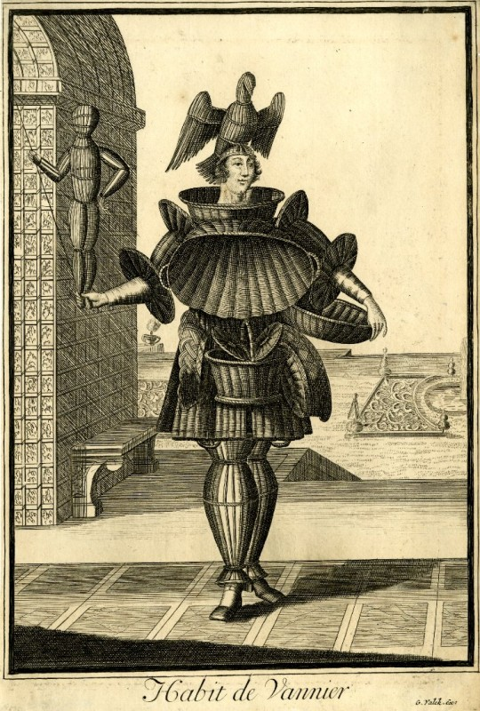 Nicolas Larmessin Costumes Grotesques Habit metier 12 540x800 Costumes grotesques et métiers de Nicolas de Larmessin