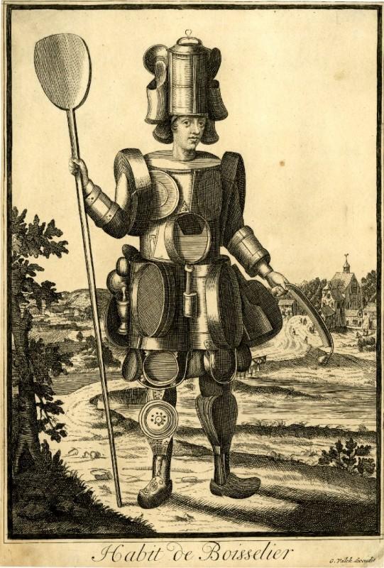 Nicolas Larmessin Costumes Grotesques Habit metier 13 541x800 Costumes grotesques et métiers de Nicolas de Larmessin