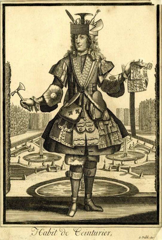 Nicolas Larmessin Costumes Grotesques Habit metier 16 542x800 Costumes grotesques et métiers de Nicolas de Larmessin