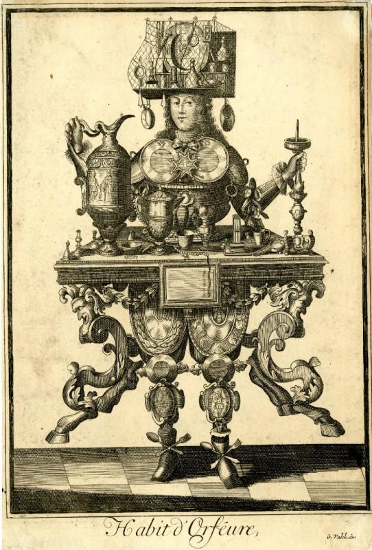 Nicolas Larmessin Costumes Grotesques Habit metier 17 542x800 Costumes grotesques et métiers de Nicolas de Larmessin