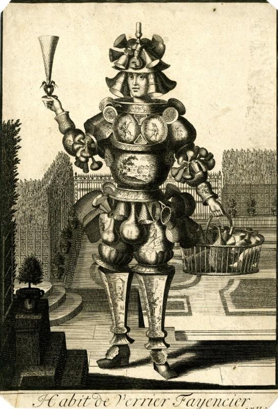 Nicolas Larmessin Costumes Grotesques Habit metier 19 544x800 Costumes grotesques et métiers de Nicolas de Larmessin