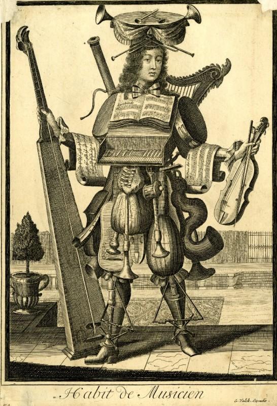 Nicolas Larmessin Costumes Grotesques Habit metier 21 546x800 Costumes grotesques et métiers de Nicolas de Larmessin
