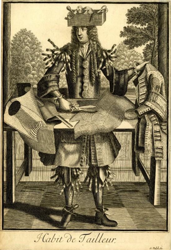Nicolas Larmessin Costumes Grotesques Habit metier 22 549x800 Costumes grotesques et métiers de Nicolas de Larmessin