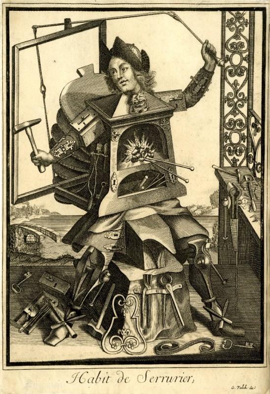 Nicolas Larmessin Costumes Grotesques Habit metier 23 549x800 Costumes grotesques et métiers de Nicolas de Larmessin
