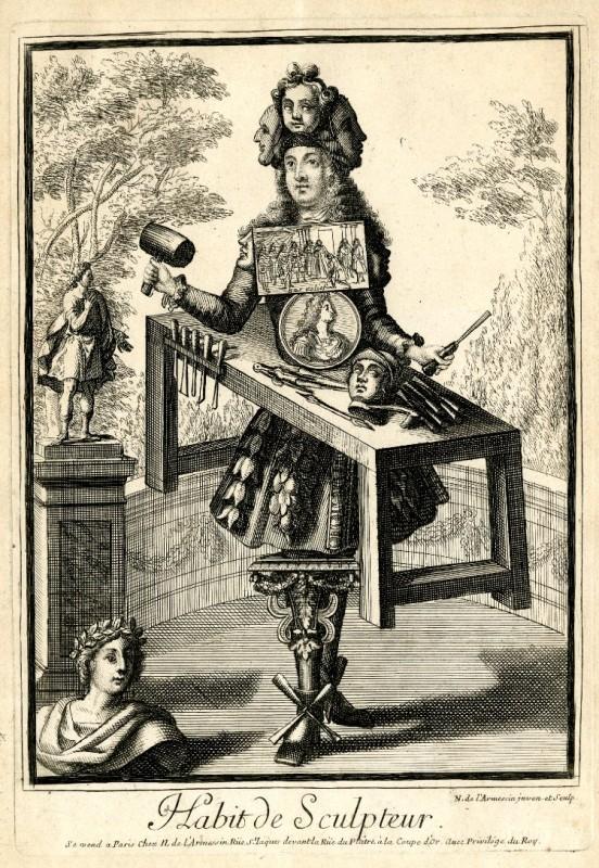 Nicolas Larmessin Costumes Grotesques Habit metier 24 552x800 Costumes grotesques et métiers de Nicolas de Larmessin