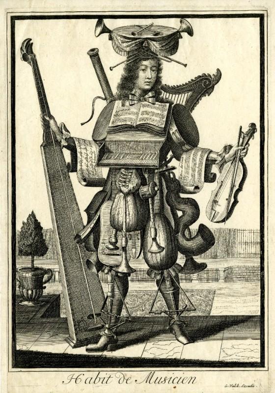 Nicolas Larmessin Costumes Grotesques Habit metier 25 560x800 Costumes grotesques et métiers de Nicolas de Larmessin