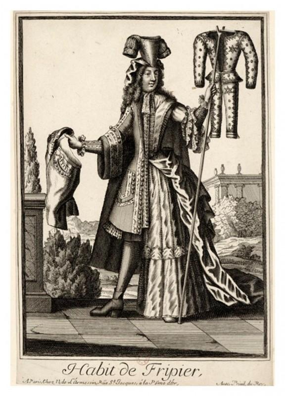 Nicolas Larmessin Costumes Grotesques Habit metier 27 576x800 Costumes grotesques et métiers de Nicolas de Larmessin