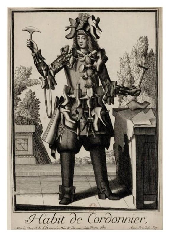 Nicolas Larmessin Costumes Grotesques Habit metier 28 575x800 Costumes grotesques et métiers de Nicolas de Larmessin