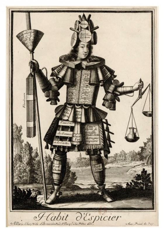 Nicolas Larmessin Costumes Grotesques Habit metier 30 565x800 Costumes grotesques et métiers de Nicolas de Larmessin