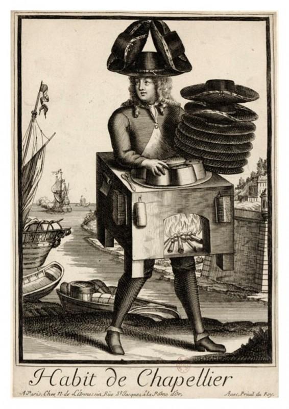Nicolas Larmessin Costumes Grotesques Habit metier 34 566x800 Costumes grotesques et métiers de Nicolas de Larmessin