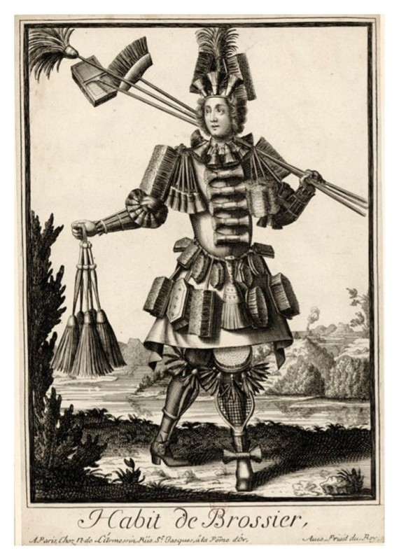 Nicolas Larmessin Costumes Grotesques Habit metier 35 570x800 Costumes grotesques et métiers de Nicolas de Larmessin