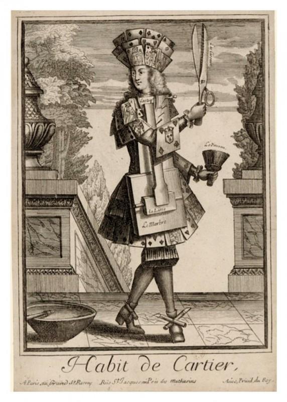 Nicolas Larmessin Costumes Grotesques Habit metier 36 572x800 Costumes grotesques et métiers de Nicolas de Larmessin