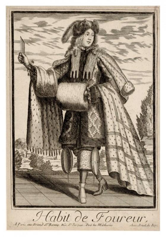 Nicolas Larmessin Costumes Grotesques Habit metier 39 560x800 Costumes grotesques et métiers de Nicolas de Larmessin
