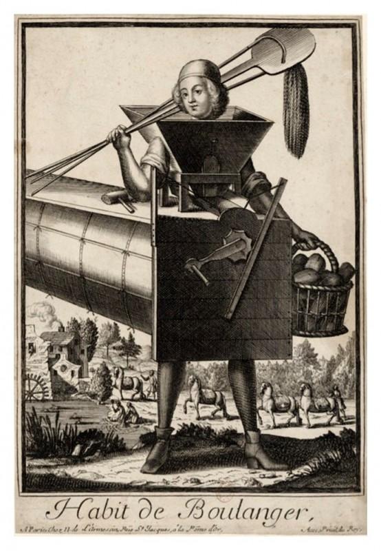 Nicolas Larmessin Costumes Grotesques Habit metier 40 554x800 Costumes grotesques et métiers de Nicolas de Larmessin