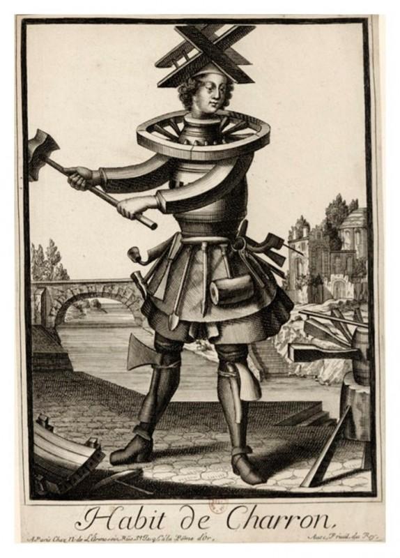 Nicolas Larmessin Costumes Grotesques Habit metier 42 574x800 Costumes grotesques et métiers de Nicolas de Larmessin