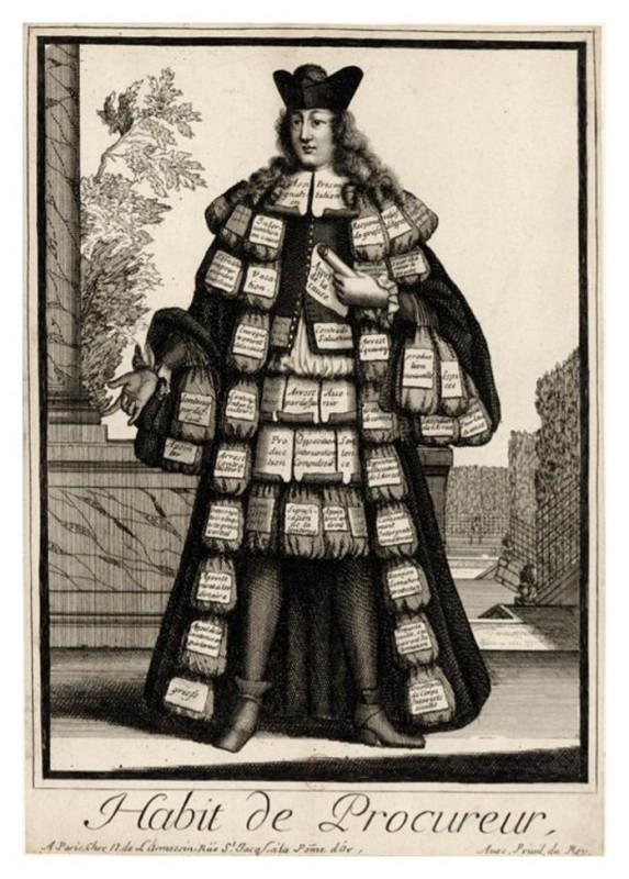 Nicolas Larmessin Costumes Grotesques Habit metier 43 573x800 Costumes grotesques et métiers de Nicolas de Larmessin