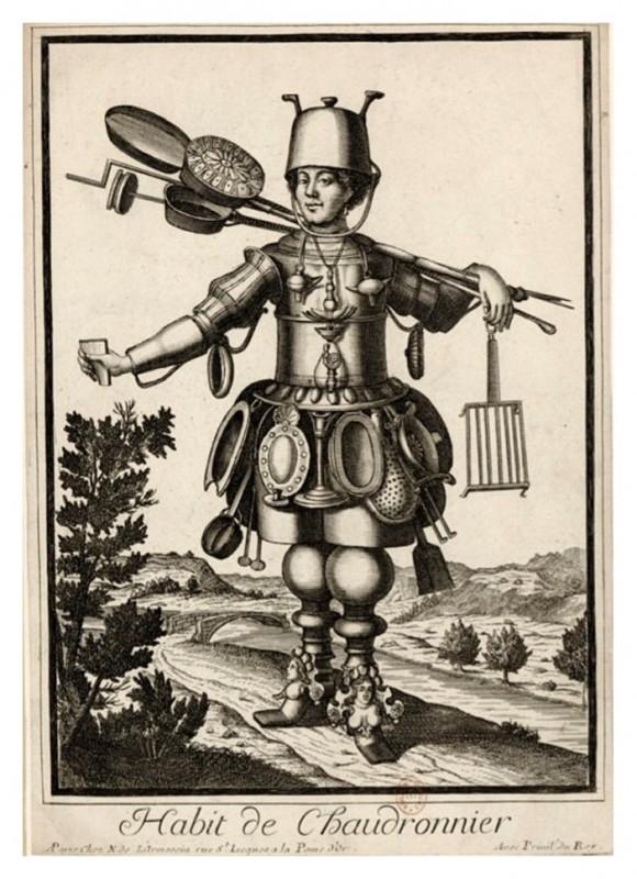 Nicolas Larmessin Costumes Grotesques Habit metier 44 580x800 Costumes grotesques et métiers de Nicolas de Larmessin