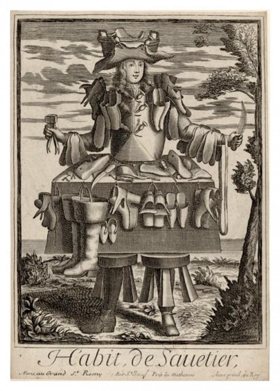 Nicolas Larmessin Costumes Grotesques Habit metier 45 574x800 Costumes grotesques et métiers de Nicolas de Larmessin