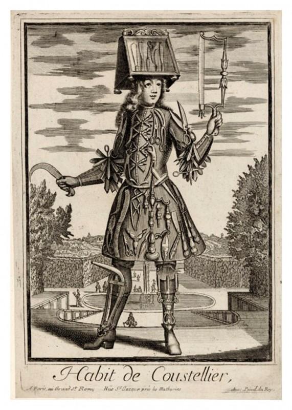 Nicolas Larmessin Costumes Grotesques Habit metier 50 571x800 Costumes grotesques et métiers de Nicolas de Larmessin