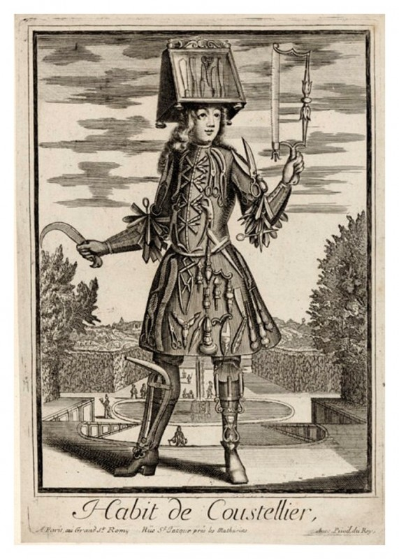 Nicolas-Larmessin-Costumes-Grotesques-Habit-metier-50
