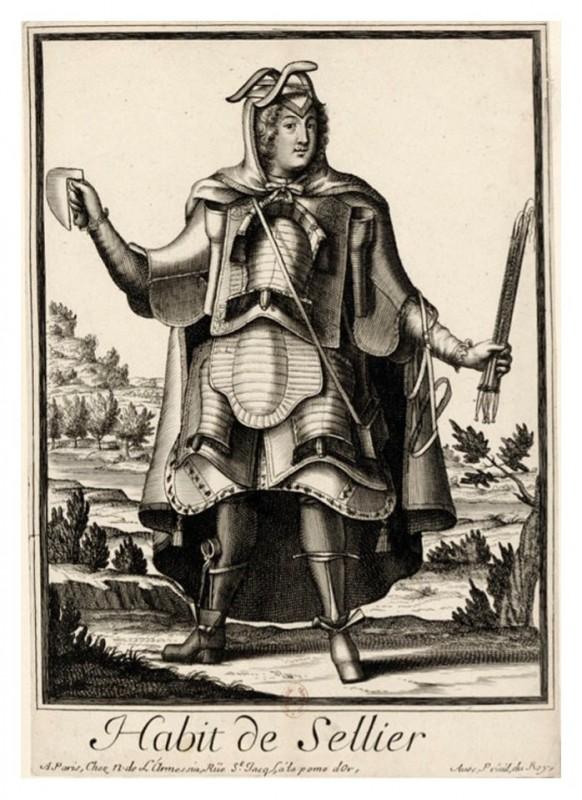 Nicolas Larmessin Costumes Grotesques Habit metier 51 582x800 Costumes grotesques et métiers de Nicolas de Larmessin