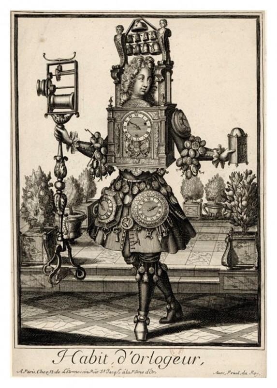 Nicolas Larmessin Costumes Grotesques Habit metier 52 573x800 Costumes grotesques et métiers de Nicolas de Larmessin