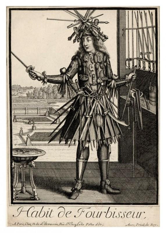 Nicolas Larmessin Costumes Grotesques Habit metier 53 571x800 Costumes grotesques et métiers de Nicolas de Larmessin