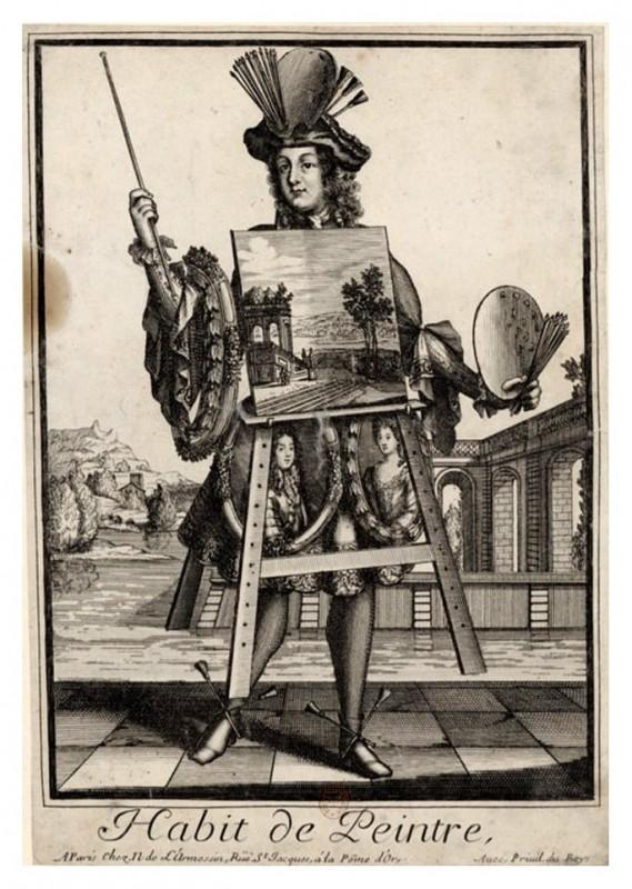 Nicolas Larmessin Costumes Grotesques Habit metier 54 569x800 Costumes grotesques et métiers de Nicolas de Larmessin