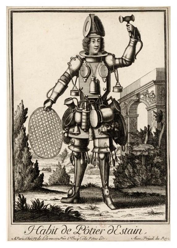 Nicolas Larmessin Costumes Grotesques Habit metier 58 572x800 Costumes grotesques et métiers de Nicolas de Larmessin