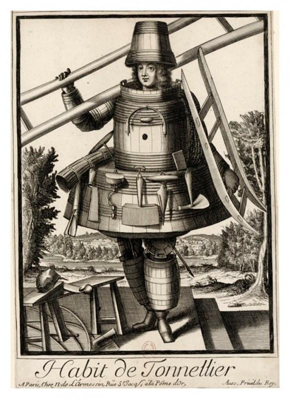 Nicolas Larmessin Costumes Grotesques Habit metier 59 582x800 Costumes grotesques et métiers de Nicolas de Larmessin