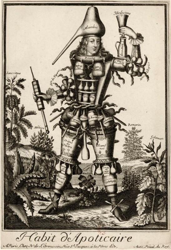 Nicolas Larmessin Costumes Grotesques Habit metier 60 547x800 Costumes grotesques et métiers de Nicolas de Larmessin
