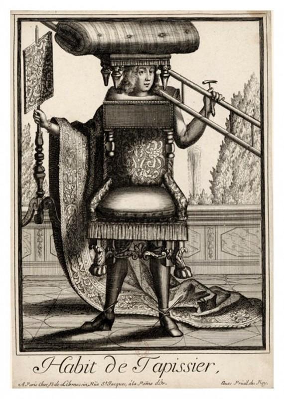 Nicolas Larmessin Costumes Grotesques Habit metier 61 570x800 Costumes grotesques et métiers de Nicolas de Larmessin