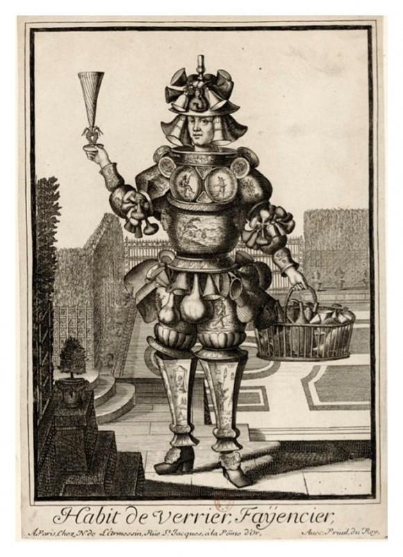 Nicolas Larmessin Costumes Grotesques Habit metier 62 580x800 Costumes grotesques et métiers de Nicolas de Larmessin