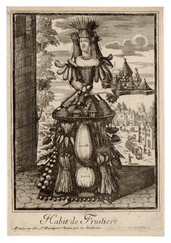 Nicolas Larmessin Costumes Grotesques Habit metier 65 562x800 Costumes grotesques et métiers de Nicolas de Larmessin