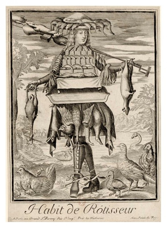 Nicolas Larmessin Costumes Grotesques Habit metier 67 587x800 Costumes grotesques et métiers de Nicolas de Larmessin
