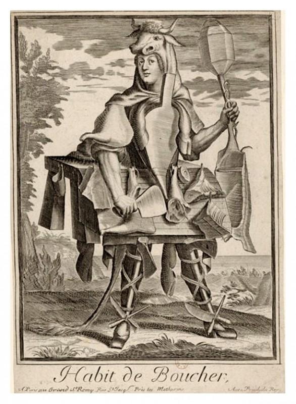 Nicolas Larmessin Costumes Grotesques Habit metier 68 586x800 Costumes grotesques et métiers de Nicolas de Larmessin