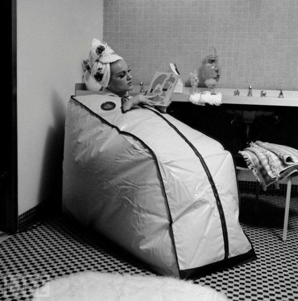 Sauna portable - 1962