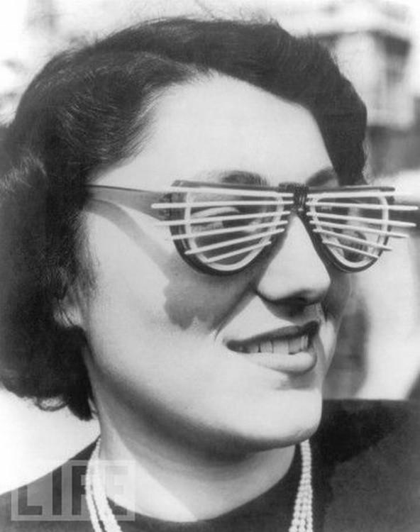 Lunettes vénitiennes - 1950
