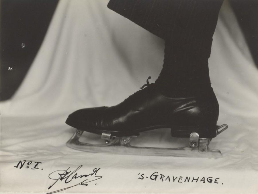 Patin à glace pour chaussure