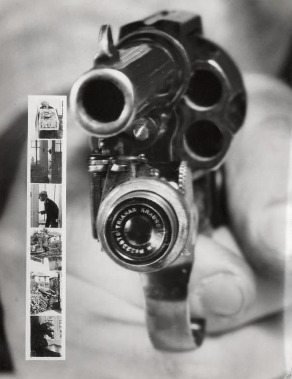 Révolver appareil photo