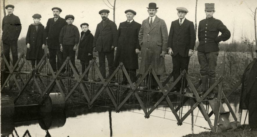 Pont transportable en cas d'urgence - Pays Bas